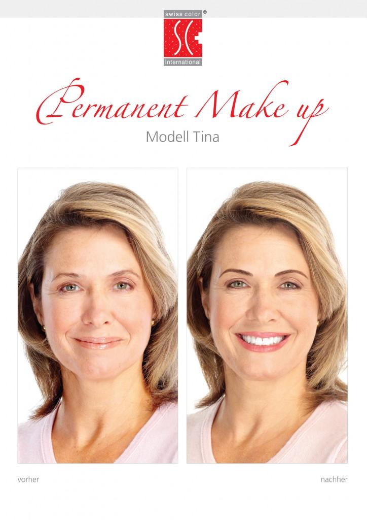 Permanent Make-up – Vorher und Nachher
